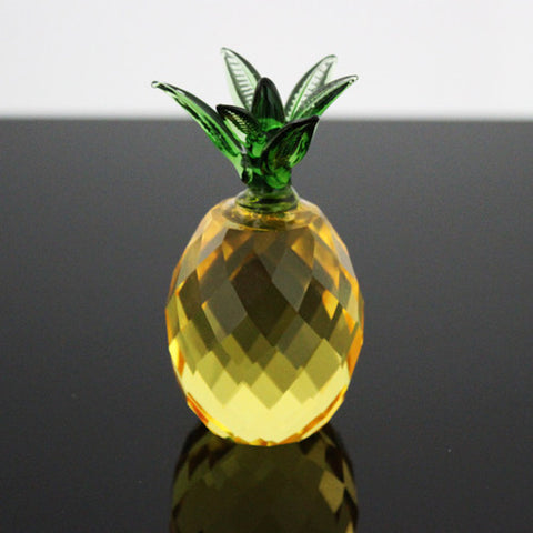 Crystal Pineapple Paperweight 3""
