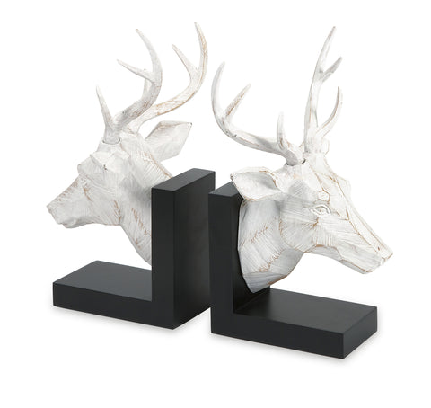 Artistically designed set of 2 joseph deer bookends - F. W. Woolworth Co. Online Store