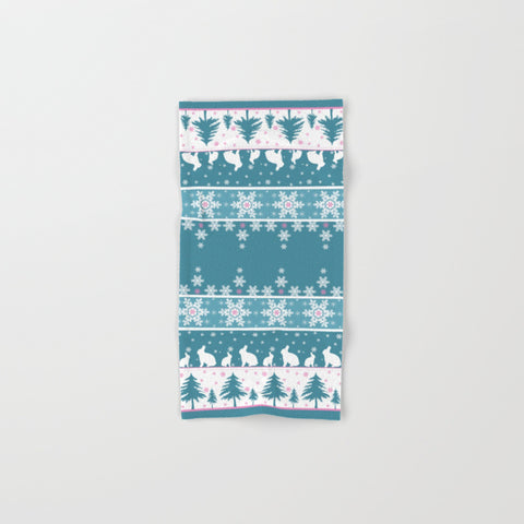 Retro Christmas Hand & Bath Towel Set - F. W. Woolworth Co. Online Store
