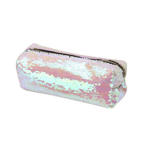 Iridescent Sequin Pouch