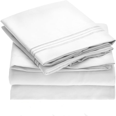 100% Cotton 300 Thread Count Bed Sheet Set