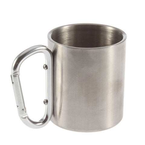 Stainless Steel Portable Camping Mug