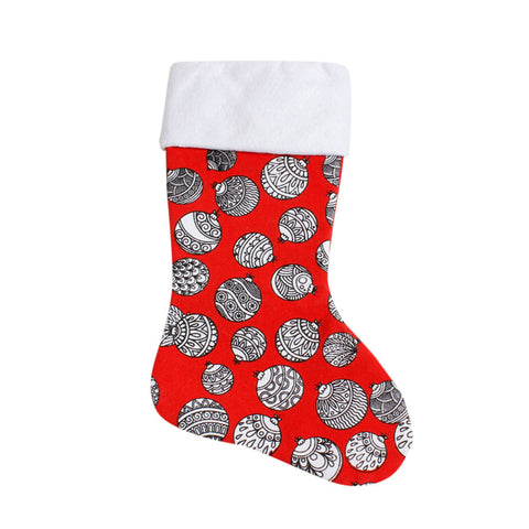 Printed Christmas Stocking - F. W. Woolworth Co. Online Store