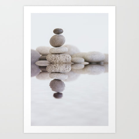 Stone Balance Art Print - F. W. Woolworth Co. Online Store