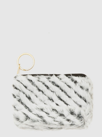 Faux Fur Coin Purse - F. W. Woolworth Co. Online Store