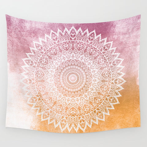 Summer Leaves Mandala Wall Tapestry - F. W. Woolworth Co. Online Store
