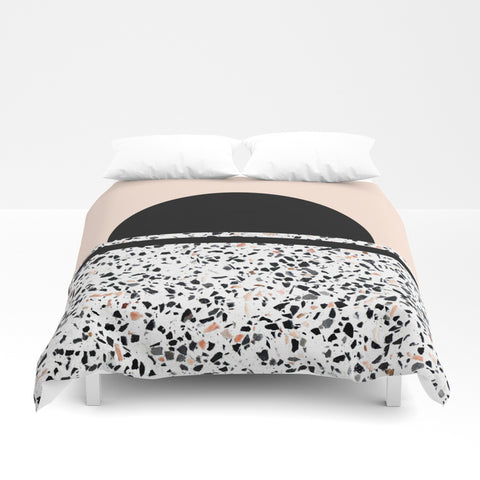 Terrazzo Stone Pattern Duvet Cover - F. W. Woolworth Co. Online Store
