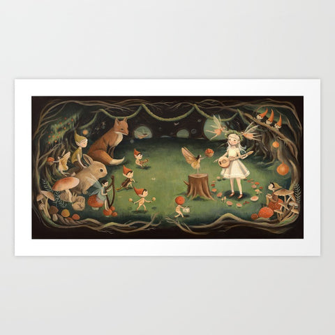 The Fairy Dream Art Print - F. W. Woolworth Co. Online Store