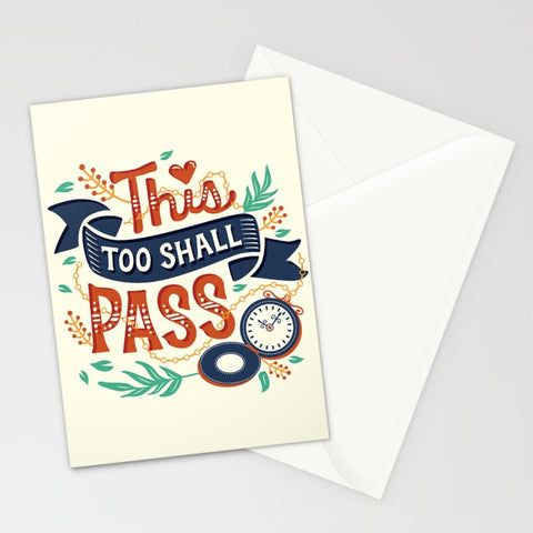 This Too Shall Pass Card - F. W. Woolworth Co. Online Store
