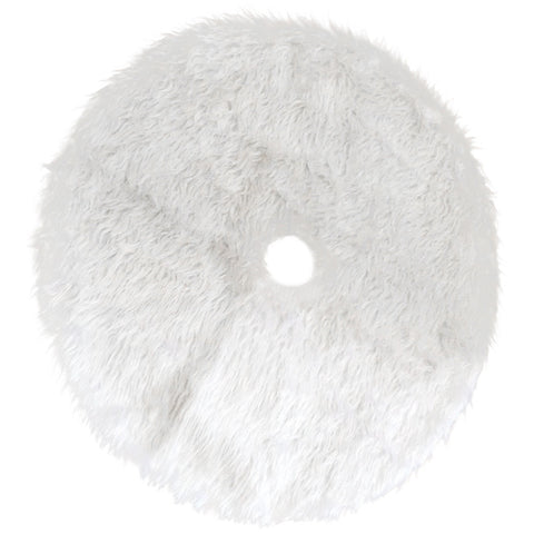 White Faux Fur Tree Skirt - F. W. Woolworth Co. Online Store