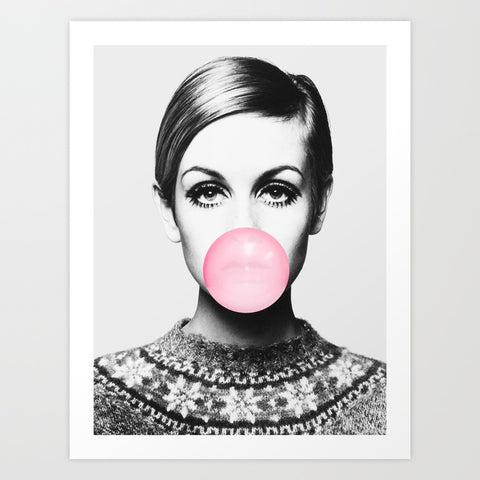 Twiggy with Bubble Gum
