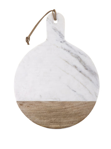 Peyton Marble & Wood Cheese Board