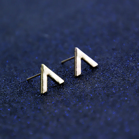 Inverted V Earrings - F. W. Woolworth Co. Online Store