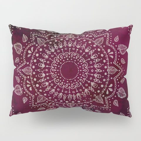 Wine Mandala Pillow Shams | Set of 2