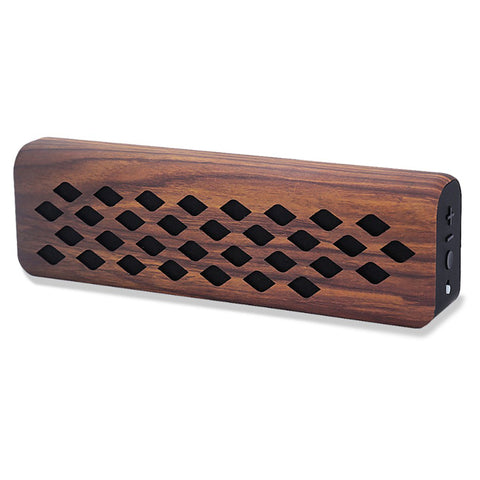Vintage Inspired Wood Grain Bluetooth Speaker - F. W. Woolworth Co. Online Store