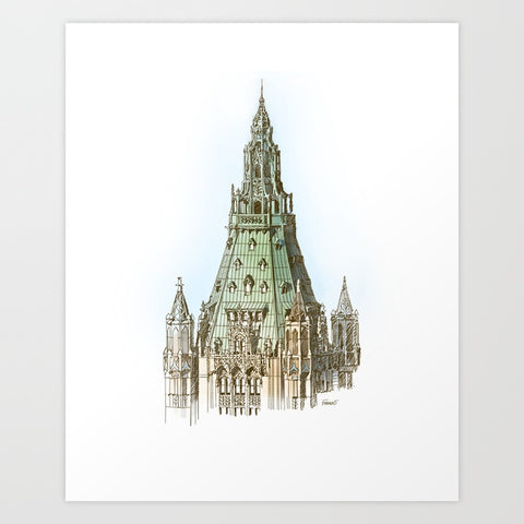 Woolworth Building Art Print