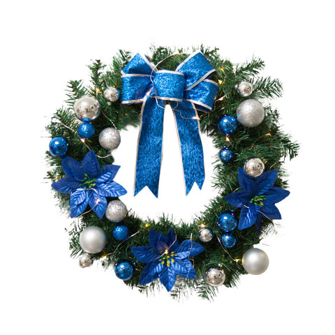 "Christmas / Hanukkah Wreath 16"" - F. W. Woolworth Co. Online Store"