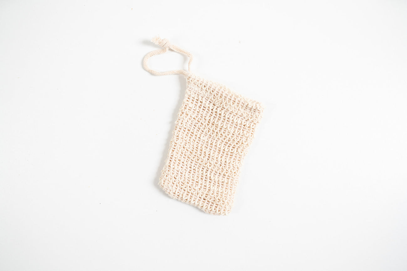 Soap Saver Natural Fibre Bag