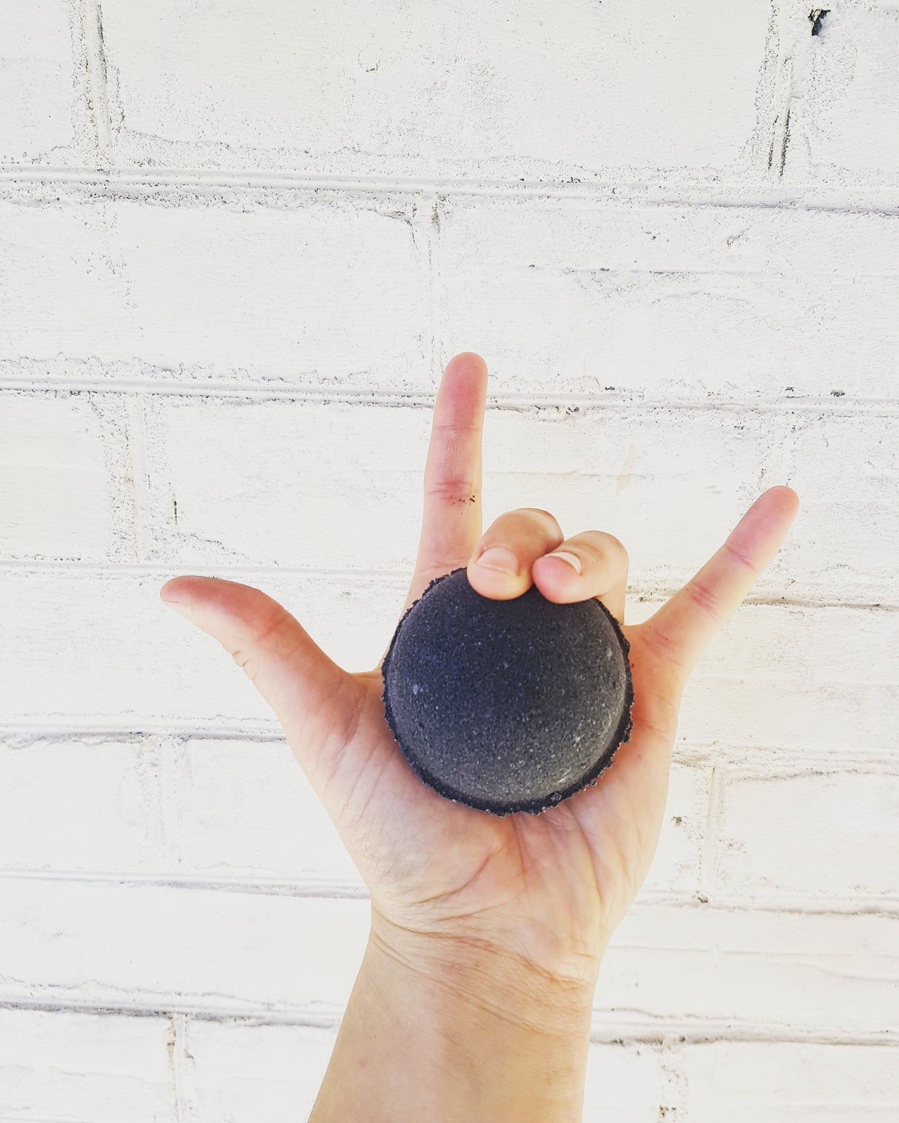 Activated Charcoal Skin Detox Bath Bomb