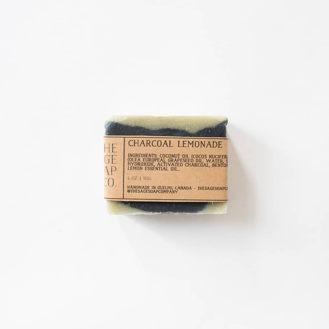 Charcoal Lemonade Detoxifying Soap