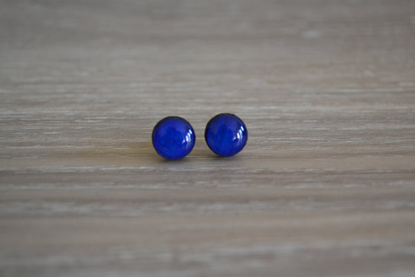 Small Navy Studs