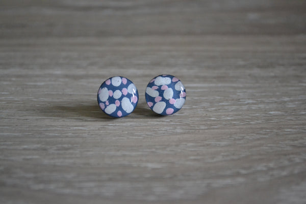 Night Sky Spotty Studs