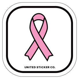 Badge_Icon_Awareness_Pink Ribbon_Vinyl_Sticker
