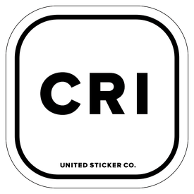 Badge_Lettering_Places_Costa Rica [ CRI ]_Vinyl_Sticker