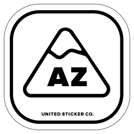 Badge_Mountain_Places_Arizona [ AZ ]_Vinyl_Sticker