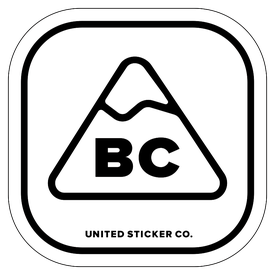 Badge_Mountain_Places_British Columbia [ BC ]_Vinyl_Sticker