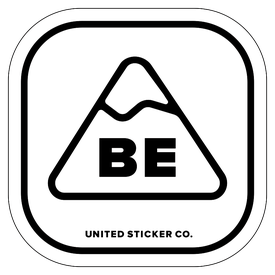Badge_Mountain_Places_Belgium [ BE ]_Vinyl_Sticker