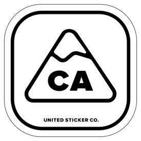 Badge_Mountain_Places_California [ CA ]_Vinyl_Sticker