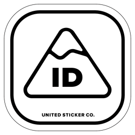 Badge_Mountain_Places_Idaho [ ID ]_Vinyl_Sticker