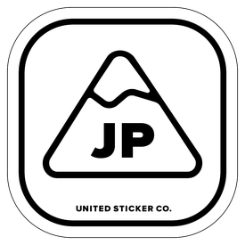 Badge_Mountain_Places_Japan [ JP ]_Vinyl_Sticker