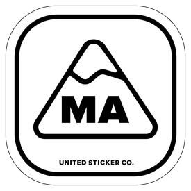 Badge_Mountain_Places_Massachusetts [ MA ]_Vinyl_Sticker