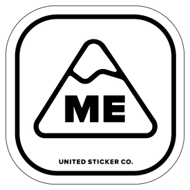 Badge_Mountain_Places_Maine [ ME ]_Vinyl_Sticker