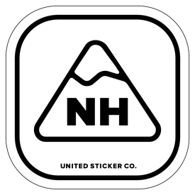 Badge_Mountain_Places_New Hampshire [ NH ]_Vinyl_Sticker
