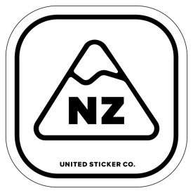 Badge_Mountain_Places_New Zealand [ NZ ]_Vinyl_Sticker
