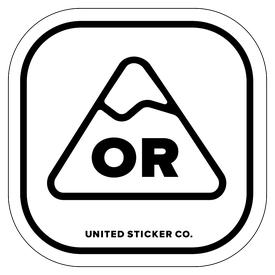 Badge_Mountain_Places_Oregon [ OR ]_Vinyl_Sticker