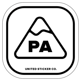 Badge_Mountain_Places_Pennsylvania [ PA ]_Vinyl_Sticker