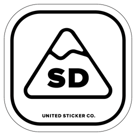 Badge_Mountain_Places_South Dakota [ SD ]_Vinyl_Sticker