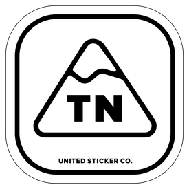 Badge_Mountain_Places_Tennessee [ TN ]_Vinyl_Sticker