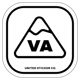 Badge_Mountain_Places_Virginia [ VA ]_Vinyl_Sticker
