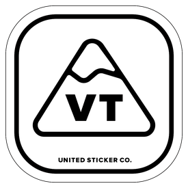 Badge_Mountain_Places_Vermont [ VT ]_Vinyl_Sticker