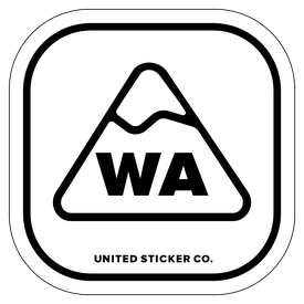 Badge_Mountain_Places_Waskington [ WA ]_Vinyl_Sticker