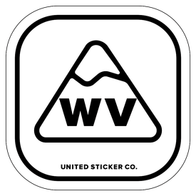 Badge_Mountain_Places_West Virginia [ WV ]_Vinyl_Sticker