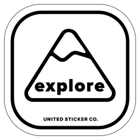 Badge_Mountain_Words & Phrases_[ Explore ]_Vinyl_Sticker