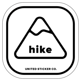 Badge_Mountain_Words & Phrases_[ Hike ]_Vinyl_Sticker