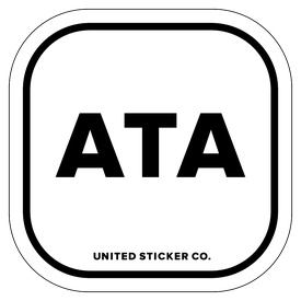 Badge_Lettering_Places_Antartica [ ATA ]_Vinyl_Sticker
