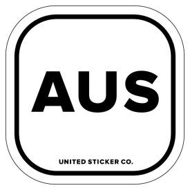 Badge_Lettering_Places_Australia [ AUS ]_Vinyl_Sticker